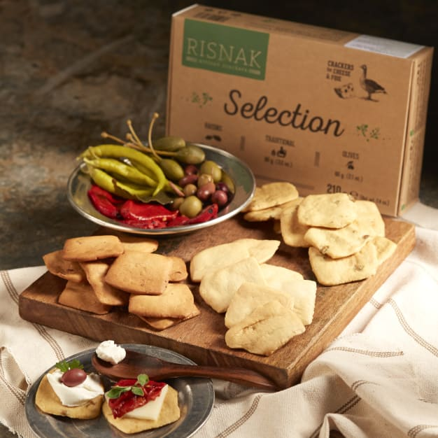 Image for Artisan Tapas Crackers - Variety Pack