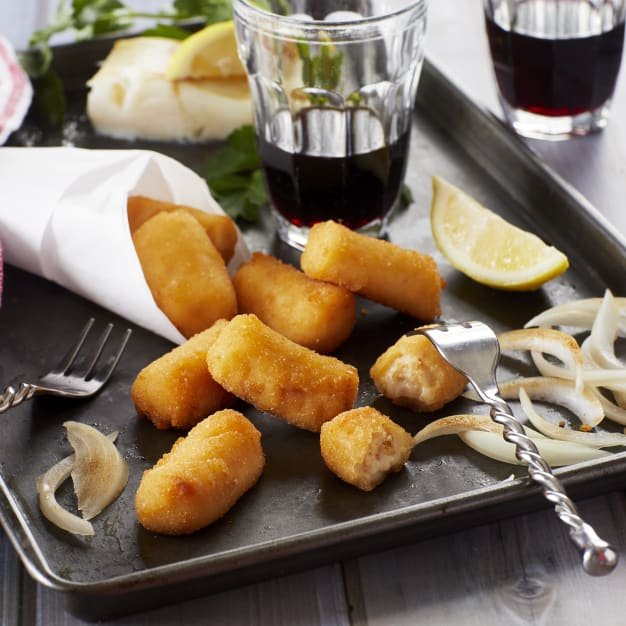 Image for 2 Packages of Cod and Caramelized Onion Croquetas by Senén (for Oven)