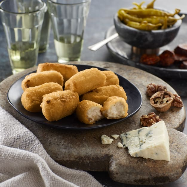 Image for 2 Packages of Blue Cheese and Walnut Croquetas by Senén (for Oven)