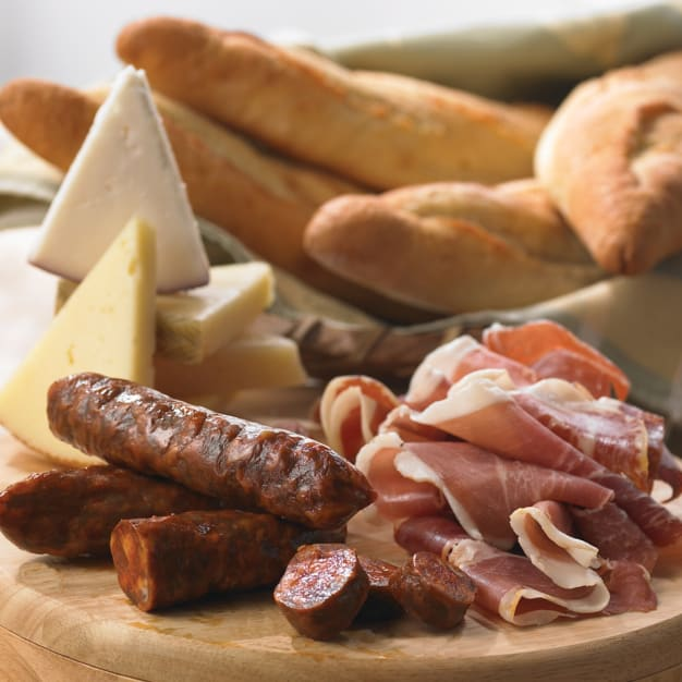 Image for Bread, Cheese and Cured Meats Sampler