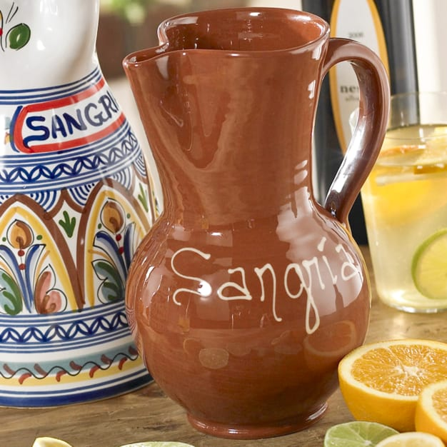 Image for Terra Cotta Sangría Pitcher