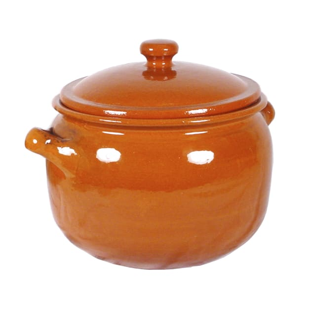 Image for Classic Terra Cotta Olla Stewing Pot or Storage Jar