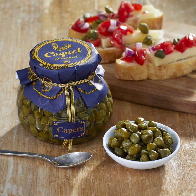 Image for All Natural Capers in Brine by Coquet