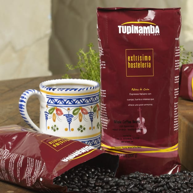 Image for 100% Torrefacto Whole Bean Coffee by Tupinamba