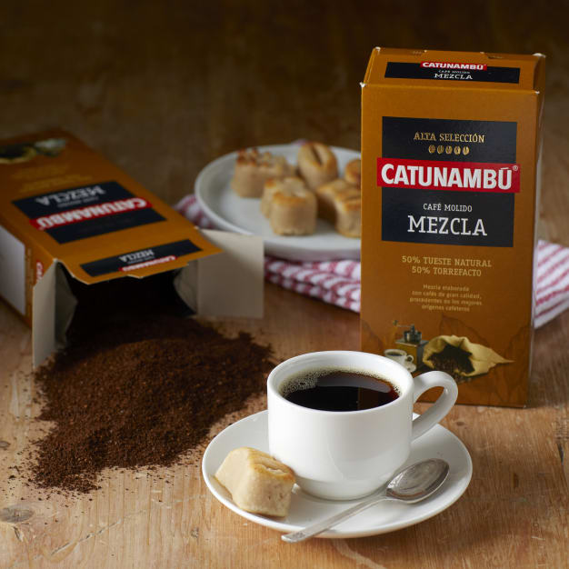 Image for 2 Packages of Ground Mixed Torrefacto Coffee by Catunambu