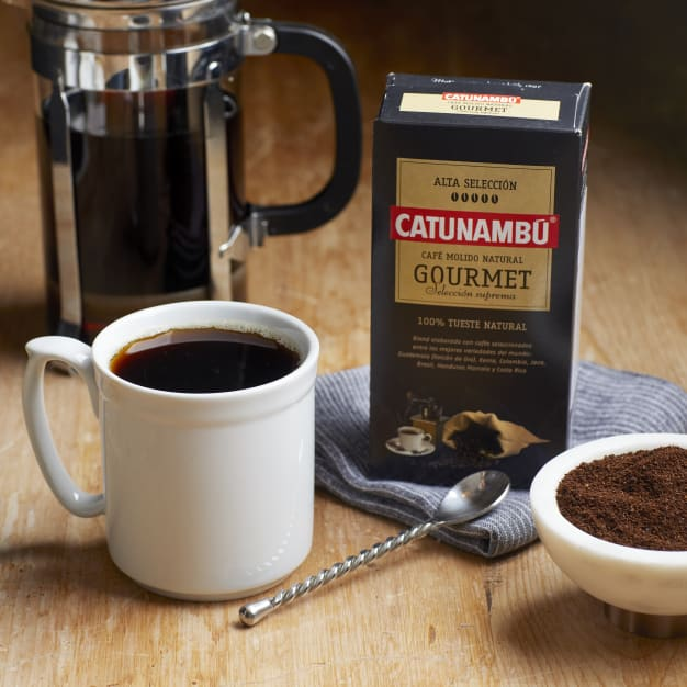 Image for 2 Packages of Ground 100% Natural Roast Gourmet Coffee by Catunambu