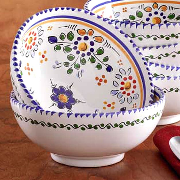 Image for Hand-painted Bowl - 6 Inch Diameter