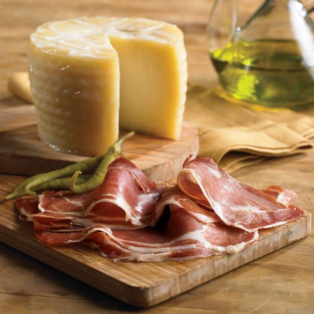 Image for Artisan Young Manchego Plus Sliced Serrano Ham