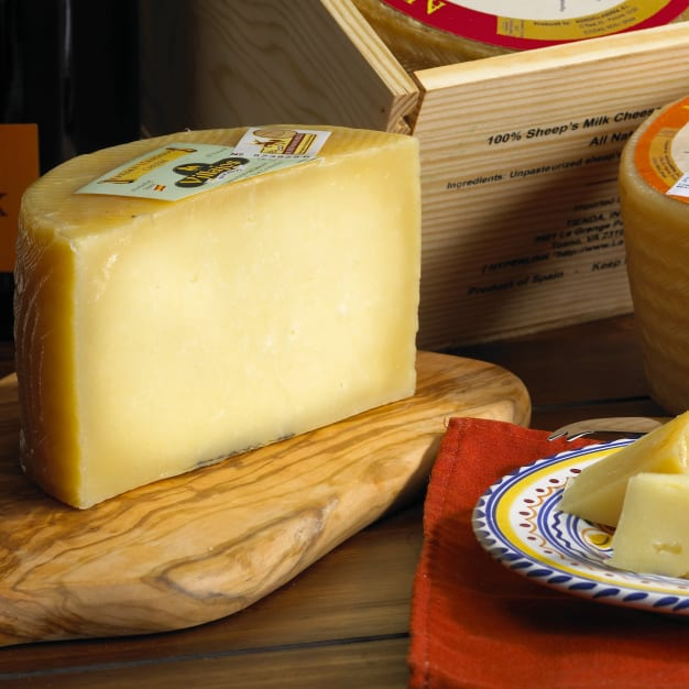 Image for Artisan Villajos Aged Manchego Cheese - 2 Pounds