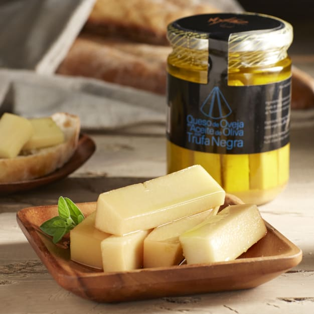 Image for Aged Cheese in Black Truffle Oil