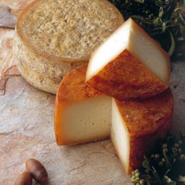 Image for Ibores Cheese with Traditional Paprika Rub, D.O. - 2 Pounds
