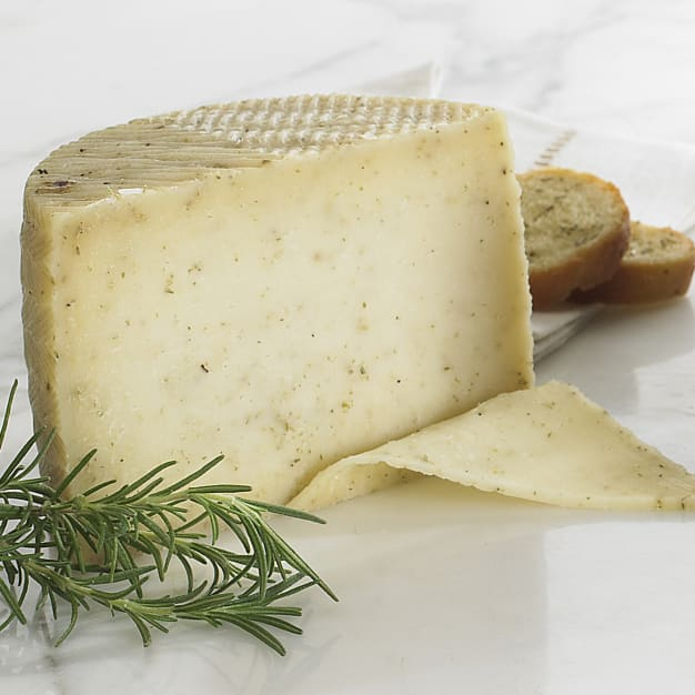 Image for Rosemary Infused Sheep's Milk Cheese - 1.1 Pounds