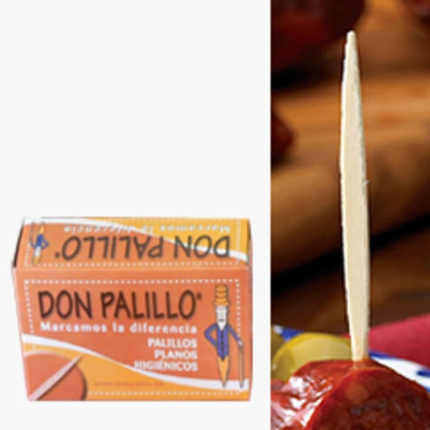 Image for 2 Boxes of 'Don Palillo' Flat Spanish Toothpicks