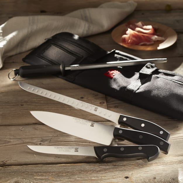 Image for Professional Jamón Knife Set with Canvas Case