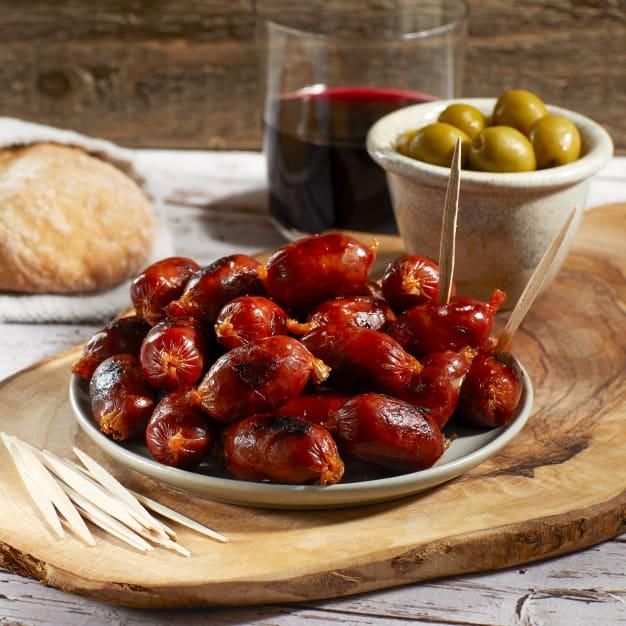 Image for Pecan Smoked Mini Chorizo Links by Peregrino