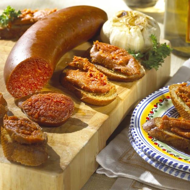 Image for Artisan Sobrasada - Mallorcan-Style Spreadable Sausage by Peregrino