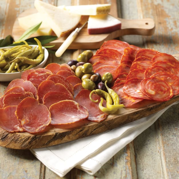 Image for Duo of Sliced Chorizo & Lomo Dry-cured Pork Loin