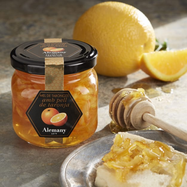 Image for Azahar Honey with Valencia Orange Peel by Alemany