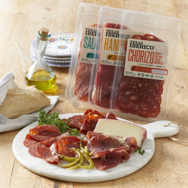 Image for Trio of Artisan Sliced Meats by Texas Iberico®