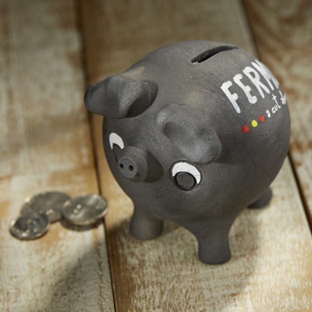 Image for Ceramic Pata Negra Piggy Bank by Fermín