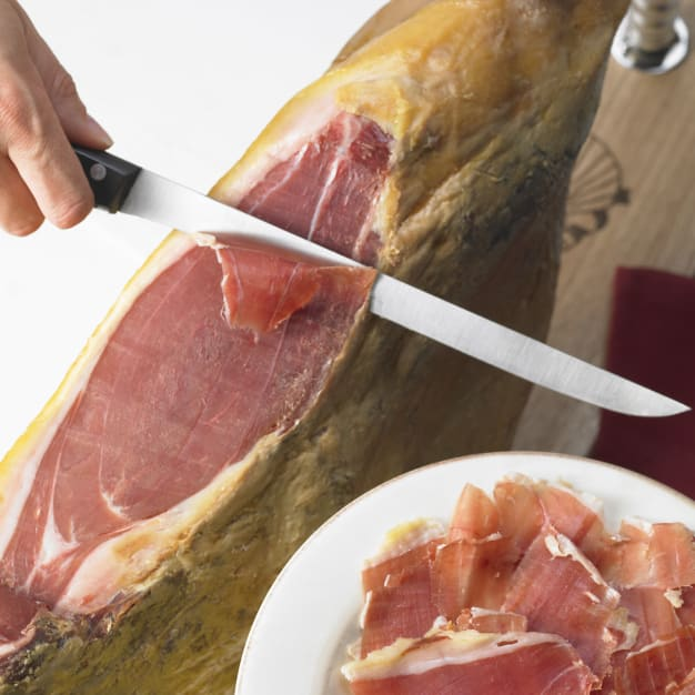Image for Monte Nevado Bone-In Jamón Serrano - FREE HAM HOLDER & FREE SHIPPING!