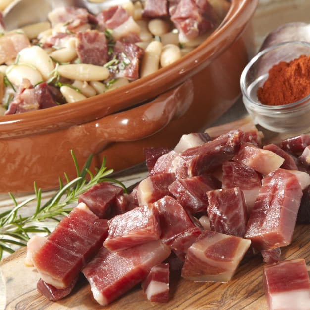 Image for 2 Packages of Jamón Ibérico Pieces for Cooking by Peregrino