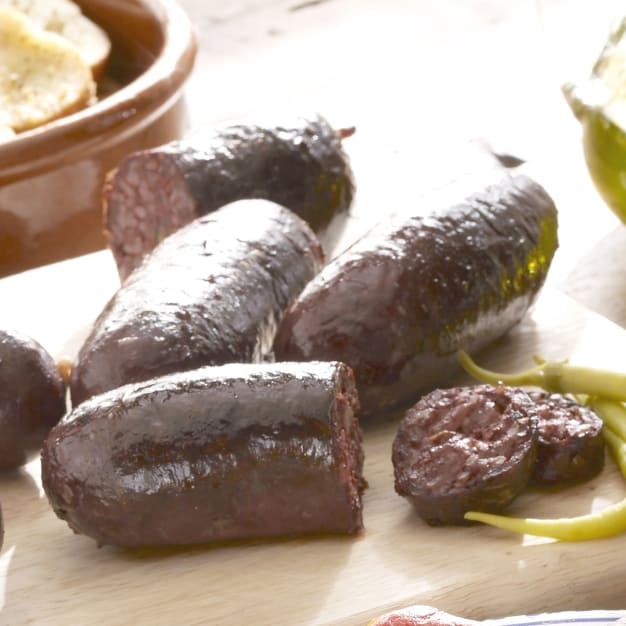 Image for Colombian Style Morcilla Black Sausage with Rice