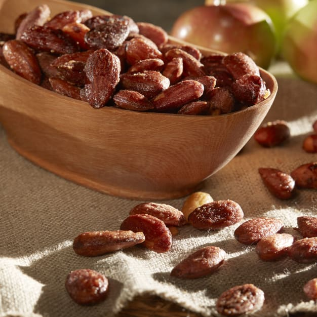 Image for Caramel Glazed Largueta Almonds