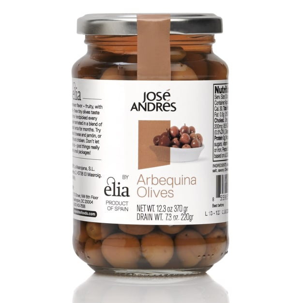 Image for Arbequina Olives with Pits by José Andrés Foods