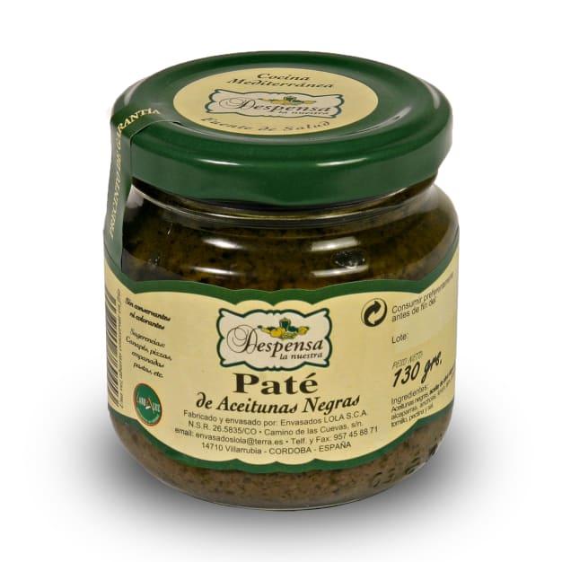 Image for Gourmet Black Empeltre Olive Pate