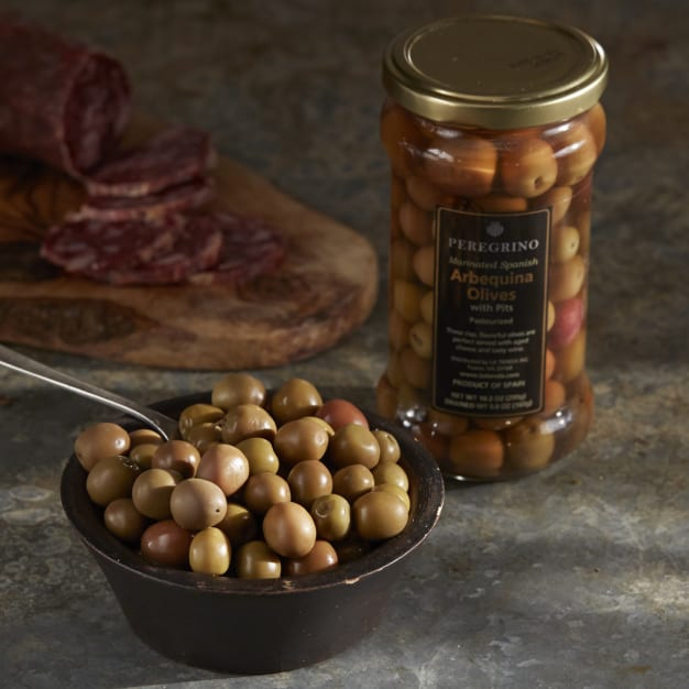 Image for Arbequina Olives by Peregrino