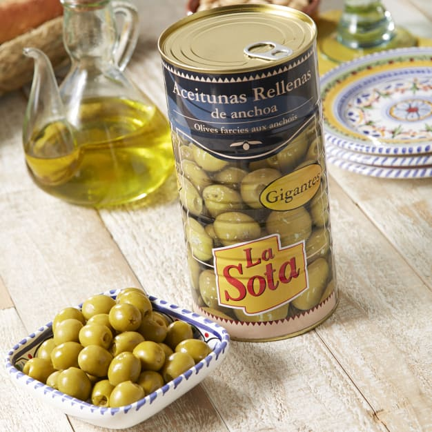 Image for Anchovy Stuffed Olives (Large Tin)