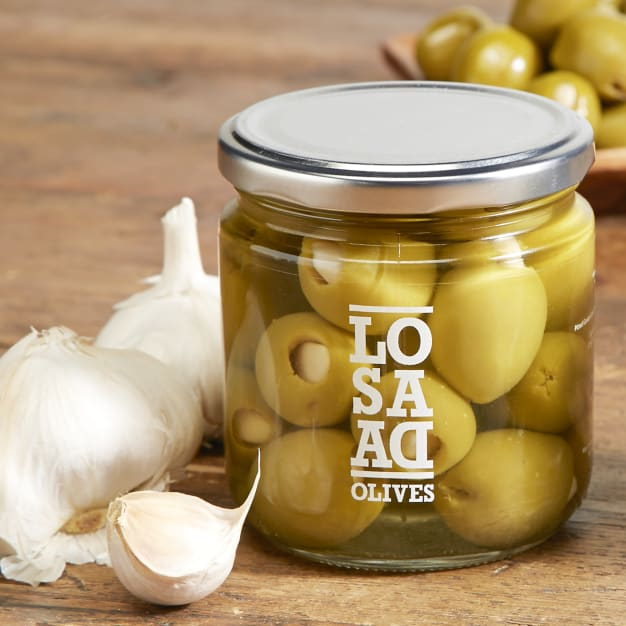 Image for Gordal Olives Stuffed with Sweet Garlic