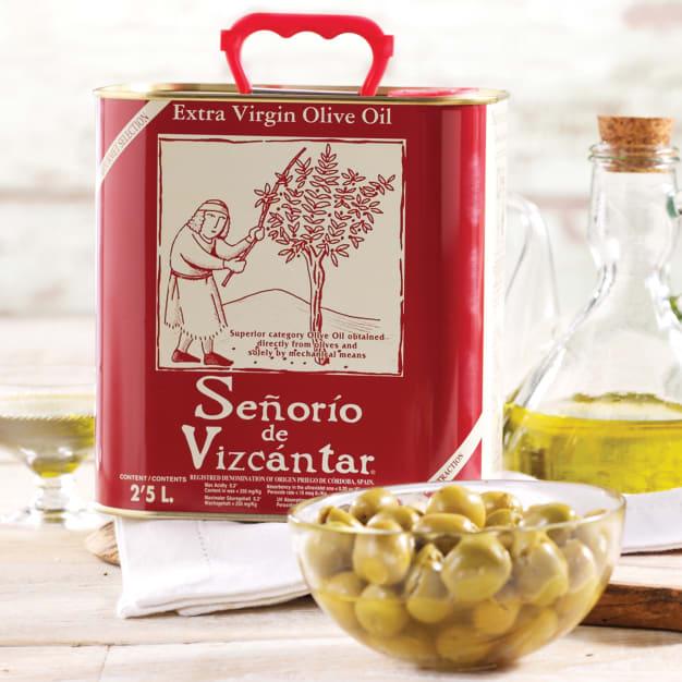 Image for Señorío de Vizcántar Extra Virgin Olive Oil (2.5 Liters)