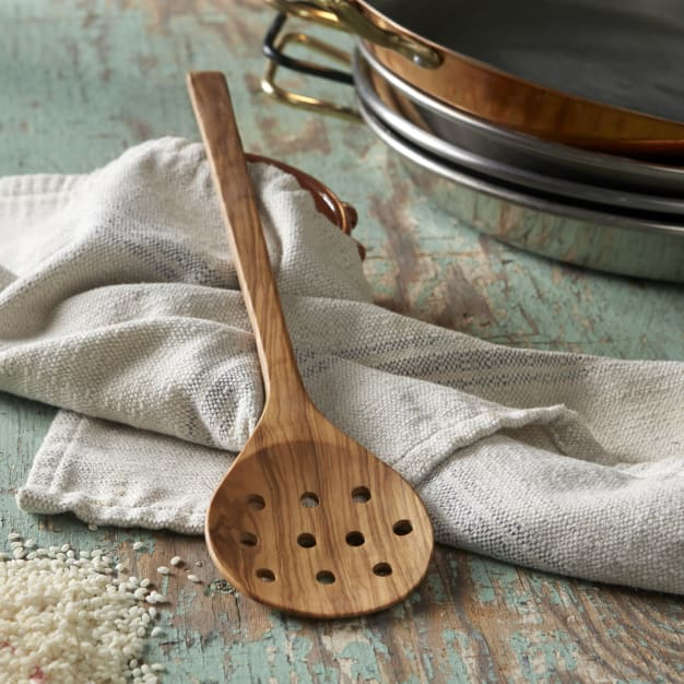 Image for Olive Wood Paella Spoon