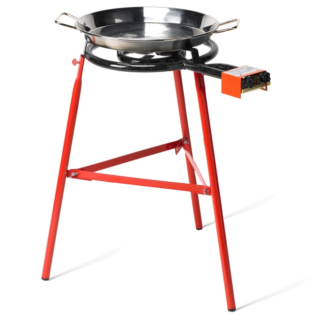 Image for Medium Paella Burner with Two Rings - For Pans Up to 22 Inches