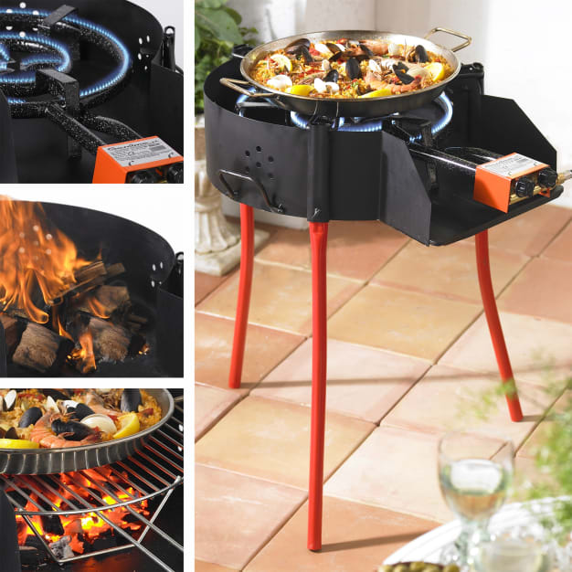 Image for Medium Paella Grill System with Burner