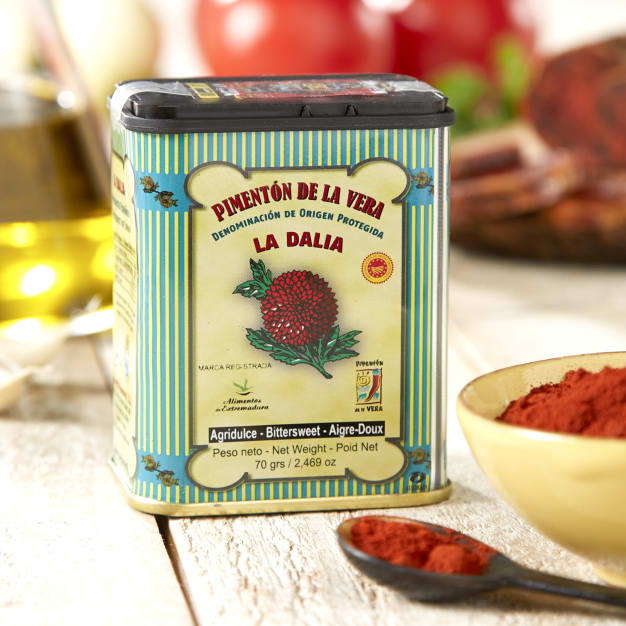 Image for 2 Tins of Bittersweet (Semi-Spicy) Smoked Paprika by La Dalia