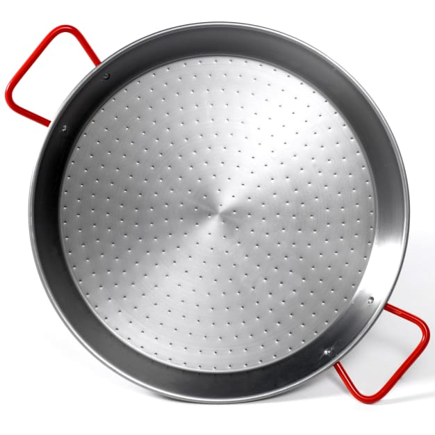 Image for 22 Inch Traditional Steel Paella Pan - Serves 12