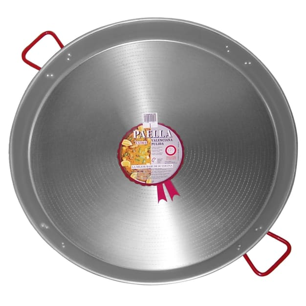 Image for XL - 32 Inch Traditional Steel Paella Pan - Serves 30 to 40