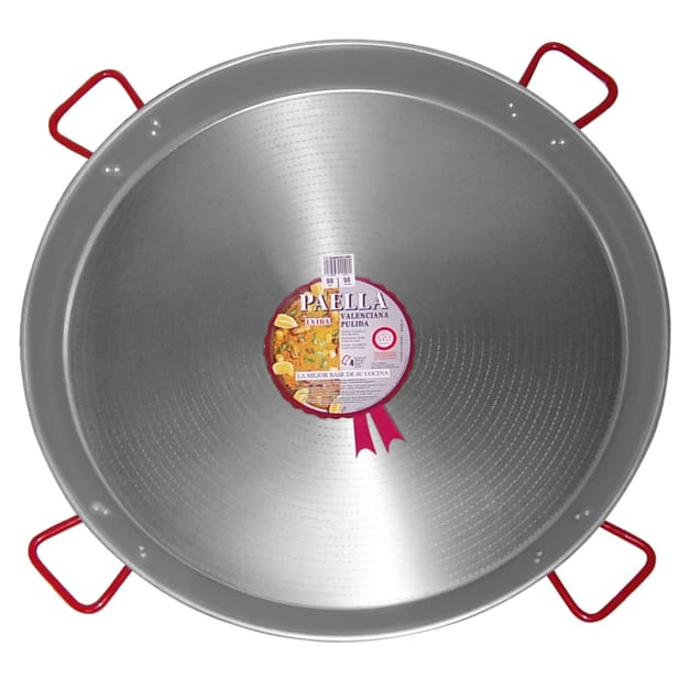 Image for XL - 36 Inch Traditional Steel Paella Pan - Serves 40 to 50