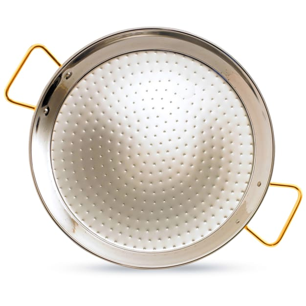 Image for 26 Inch Stainless Steel Paella Pan - Serves 16