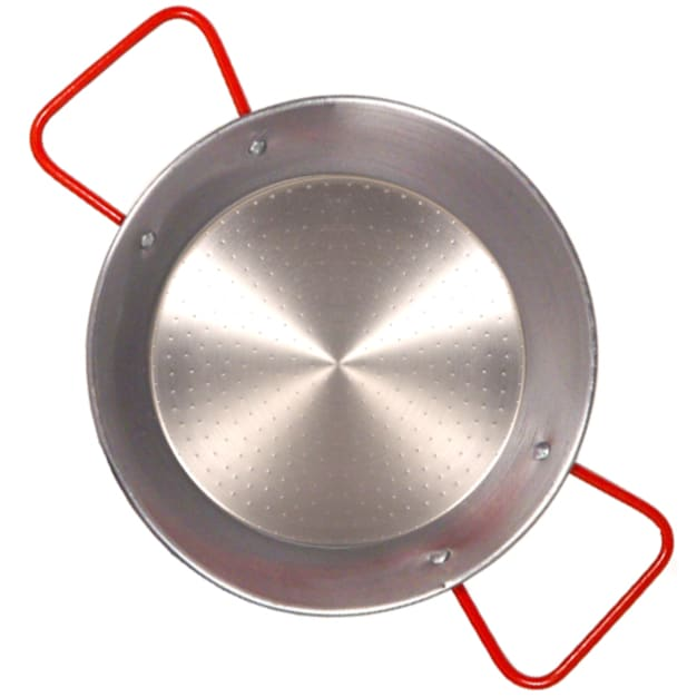 Image for 7.75 Inch Traditional Steel Paella Pan - Serves 1