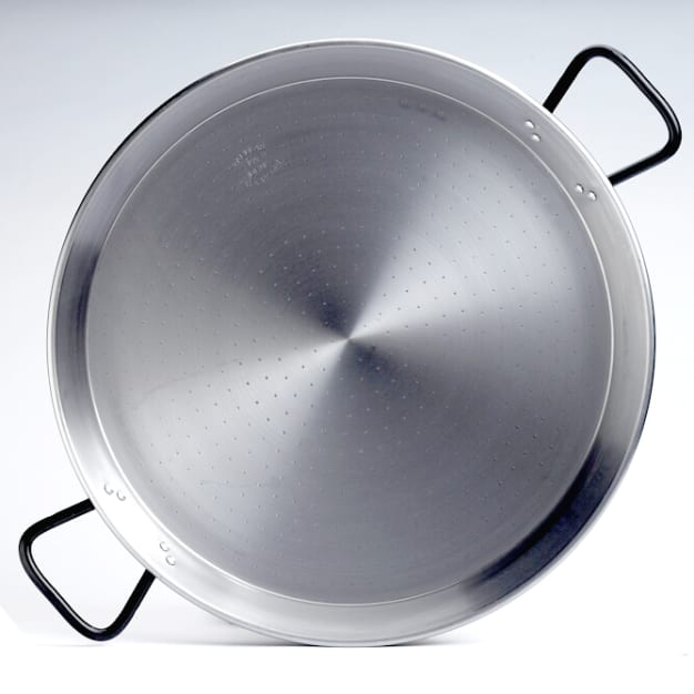 Image for 18 Inch 'Pata Negra' Double-Gauge Steel Paella Pan - Serves 8