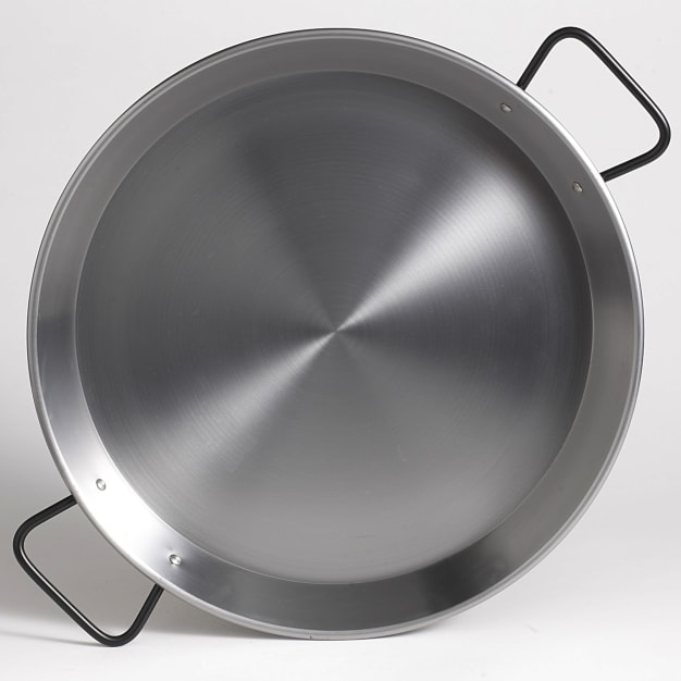 Image for 13 Inch 'Pata Negra' Double Gauge Steel Paella Pan - Serves 4