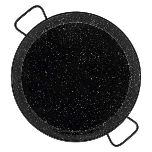 Image for 20 Inch Enameled Steel Paella Pan - Serves 10-12