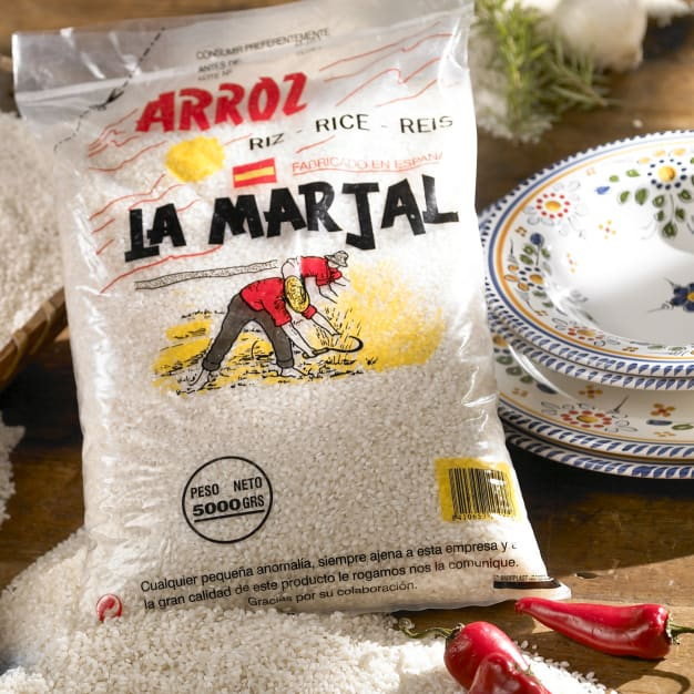 Image for XL La Marjal Paella Rice  - 11 lbs
