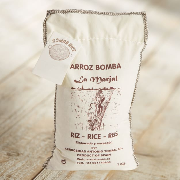 Image for Bomba Paella Rice by Santo Tomas