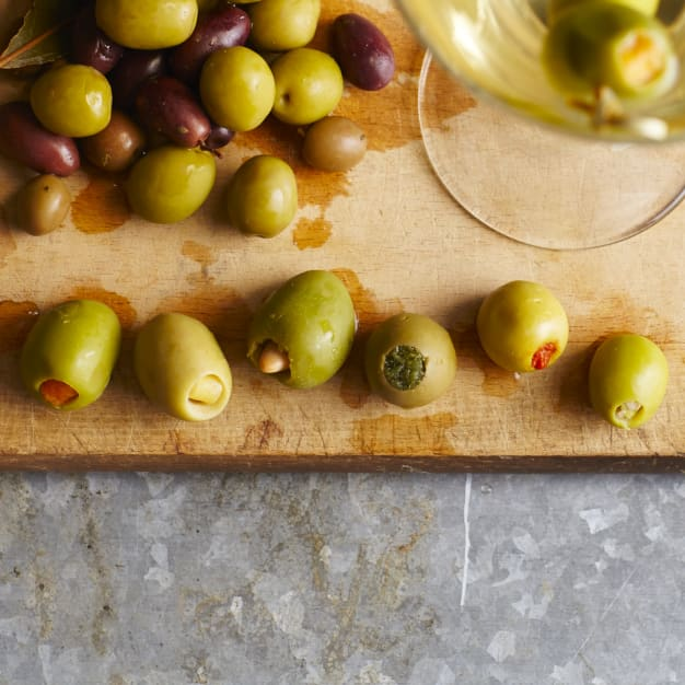 Image for Spanish Stuffed Olive Favorites - 4 Jars