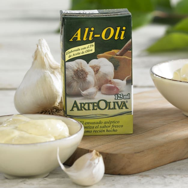 Image for 3 Packages of Alioli Garlic Mayonnaise with Extra Virgin Olive Oil
